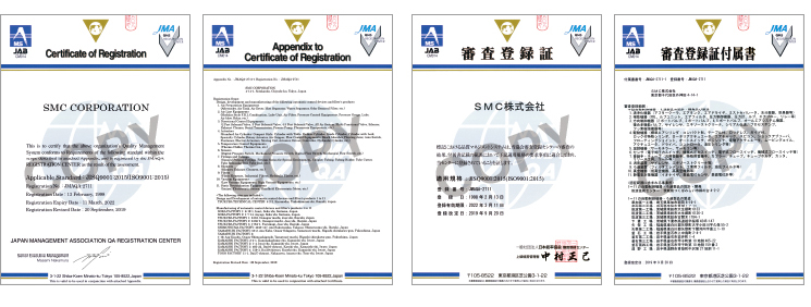 Quality Management System・ISO9001