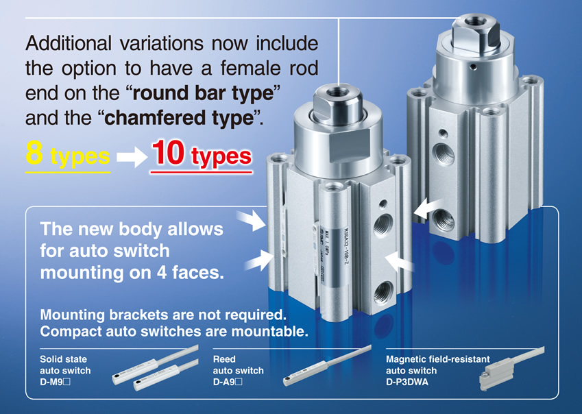 SMC Products-Stopper Cylinders