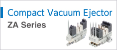 Compact Vacuum Ejector Series ZA