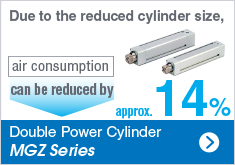 Double Power Cylinder MGZ Series