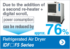 Refrigerated Air Dryer IDFmFS Series