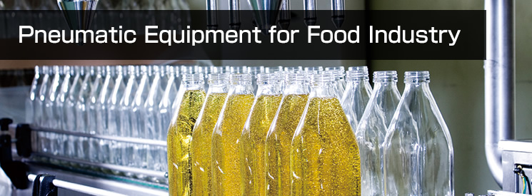 Pneumatic Equipment for Food Industry