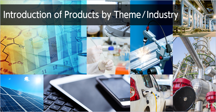 Introduction of Products by Theme ⁄ Industry