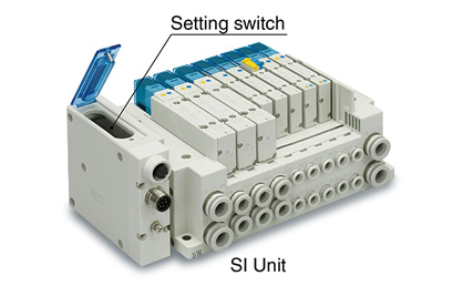 smc manifold block wiring diagram smc products-reduced-wiring fieldbus system (serial ...