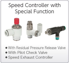 Speed Controllers with Special Functions