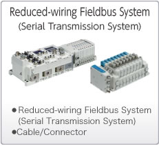 Reduced-wiring  Fieldbus System (Serial Transmission System)