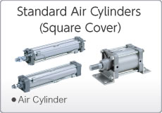 Standard Air Cylinders (Square Cover)