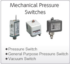 Mechanical Pressure Switches/Sensors