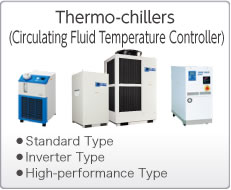 Thermo-Chillers (Circulating Fluid Temperature Controller)