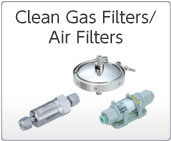 Clean Gas Filters/Air Filters