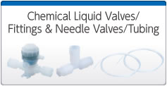 Chemical Liquid Valves/Fittings & Needle Valves/Tubing
