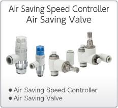 Air Saving Speed Controllers Air Saving Valves