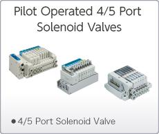 Pilot Operated 4/5 Port Solenoid Valves
