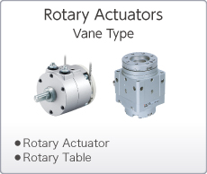 Rotary Actuators Vane Type