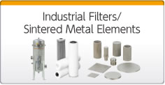 Industrial Filters/Sintered Metal Elements