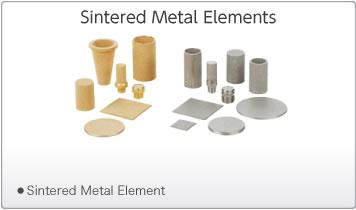 Sintered Metal Elements