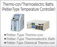 Thermo-cons/Thermoelectric Baths (Peltier-Type Temperature Control Equipment)