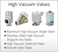 High Vacuum Valves
