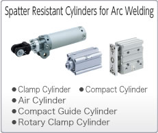 Spatter Resistant Cylinders for Arc Welding
